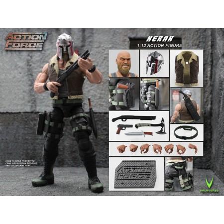 Action Force Kerak Action Figure