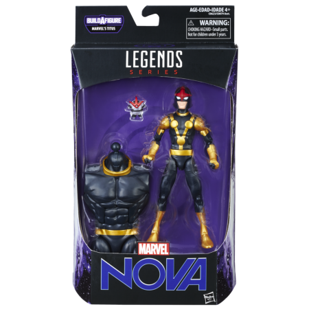 Marvel Legends guardianes de la galaxia Vol 2 niño Nova