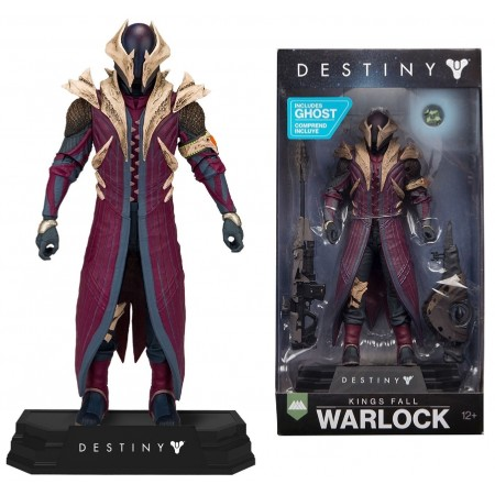 McFarlane Colours Tops Destiny Kings Fall Warlock Figure