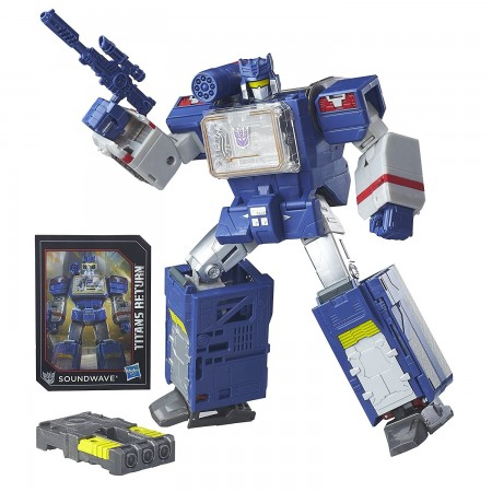 Transformers Titans Return Leader Soundwave