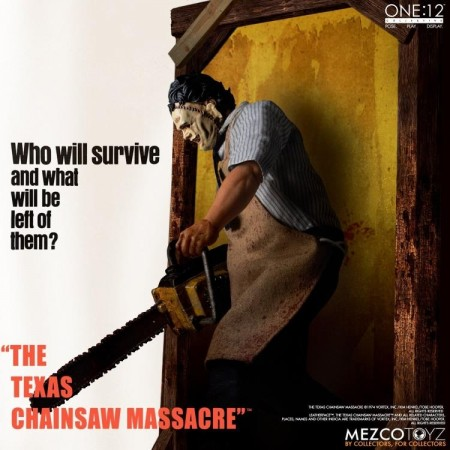 Mezco One:12 Collective Leatherface Deluxe Action Figure