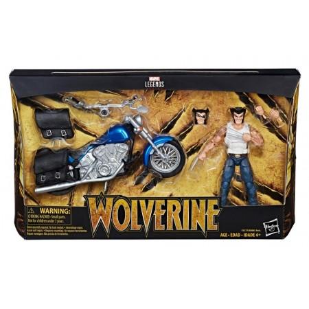 Marvel Legends Ultimate Riders Wolverine & Motorcycle