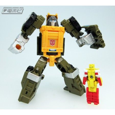Transformers Legends LG-48 Brawn & Repugnus