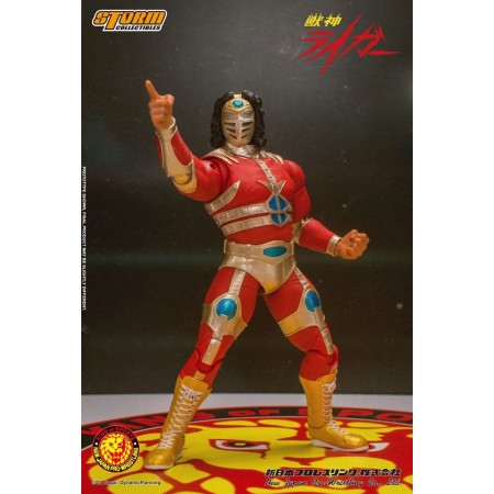 New Japan Wrestling Jyushin Liger Storm Collectibles Action Figure
