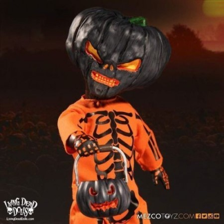 MEZCO Living Dead Dolls Jack O Lantern Orange Limited Edition ( 666 Made )