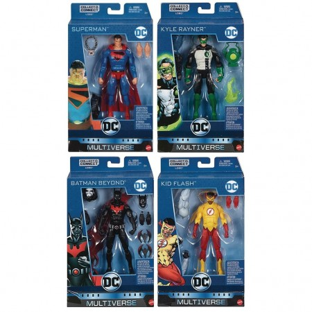 DC Multiverse Wave 10 Set of 4 Lobo Collect & Connect