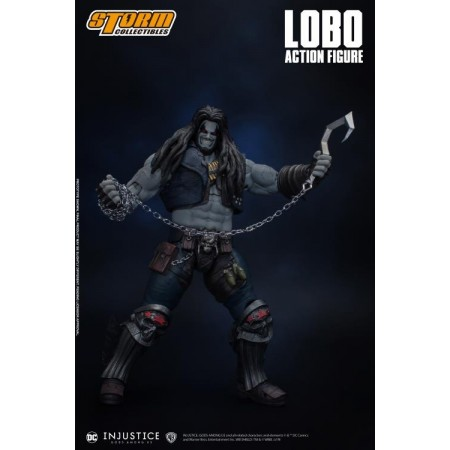 Injustice: Gods Among Us Lobo 1/12 Scale Storm Collectibles Action Figure