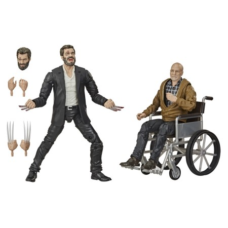 Marvel Legends Logan and Charles 2 Pack 1 PER CUSTOMER