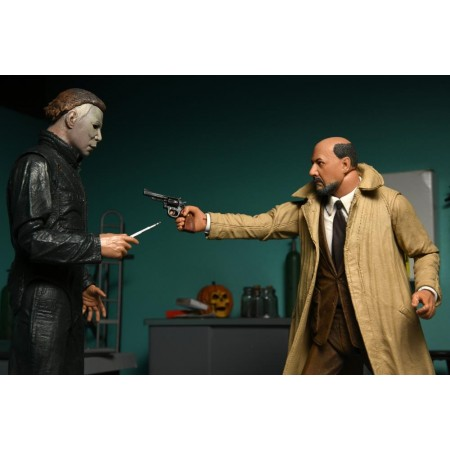 NECA Halloween 2 Ultimate Dr Loomis and Michael Myers 2 Pack
