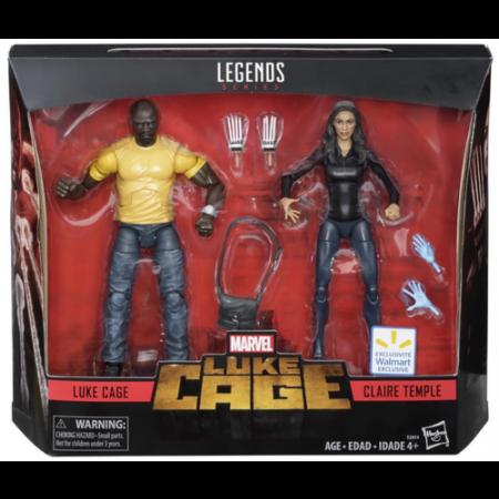Marvel Legends Netflix Luke Cage y Claire Temple 2 Pack