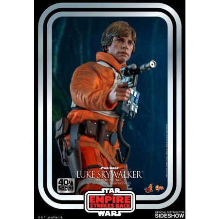 Juguetes calientes Star Wars The Empire contraataca Luke Skywalker Snowspeeder Pilot 1/6 Scale Figure
