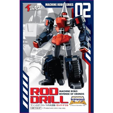 Machine Robo MR-02 Rod Drill