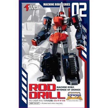 Máquina Robo Señor-02 barra taladro