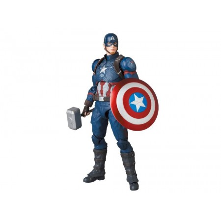 Avengers Endgame Mafex Captain America No 130 Action Figure