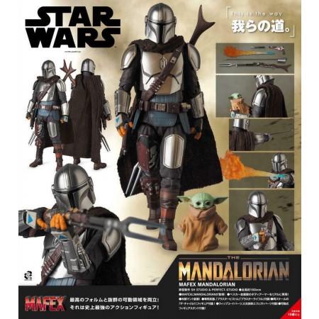 Star Wars Mafex La Figura de Acción Mandalorian Beskar Armour & Child No 129