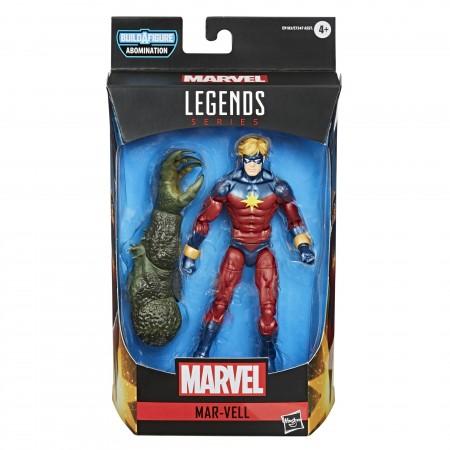 Marvel Leyendas Mar-Vell Figura de acción de 6 pulgadas ( Abomination BAF )