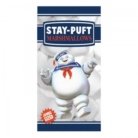 Factory Entertainment Ghostbusters Stay Puft Marshmallow Man Beach Towel