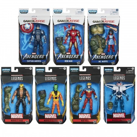 Marvel Legends Gamerverse Abomination BAF Set de 7