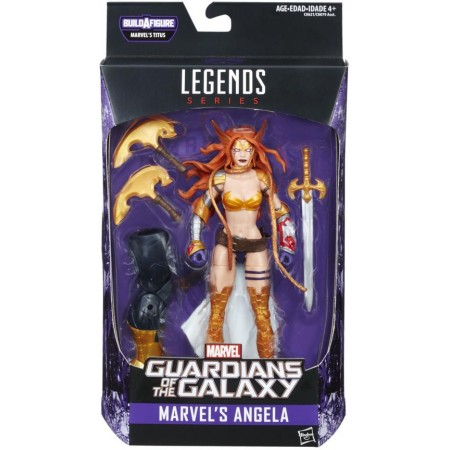 Marvel Legends guardianes de la galaxia Vol 2 Angela