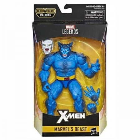Figura de acción de la bestia de Marvel Legends X-Men