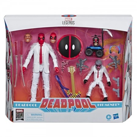 Marvel Legends 80th Anniversary Deadpool & Hit Monkey 2 Pack