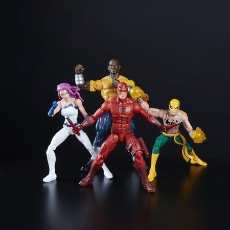 Marvel Legends defensores 4 Pack exclusivo