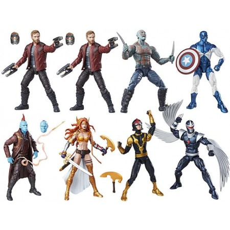 Marvel Legends guardianes de la galaxia volumen 2 caja de 8