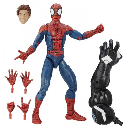 Marvel Legends espacio Venom onda Peter Parker