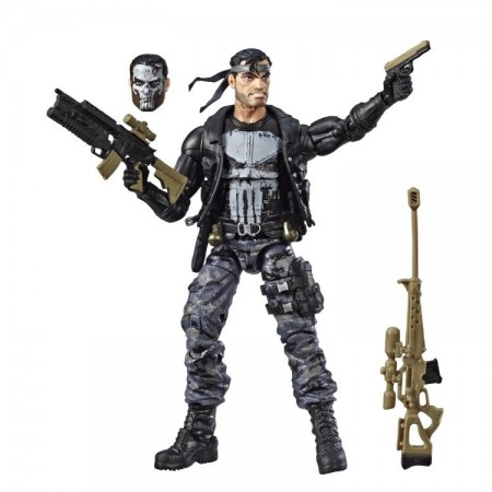Marvel Legends 80th Anniversary Punisher Variant Action Figure