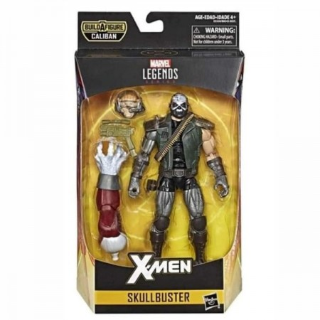 Figura de acción de Skullbuster de Marvel Legends X-Men