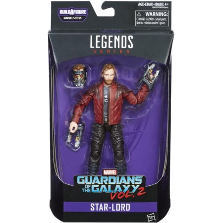 Marvel Legends Guardians Of The Galaxy Vol 2 Starlord Titus Baf