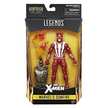 Marvel Legends X-Men Sunfire Warlock Wave