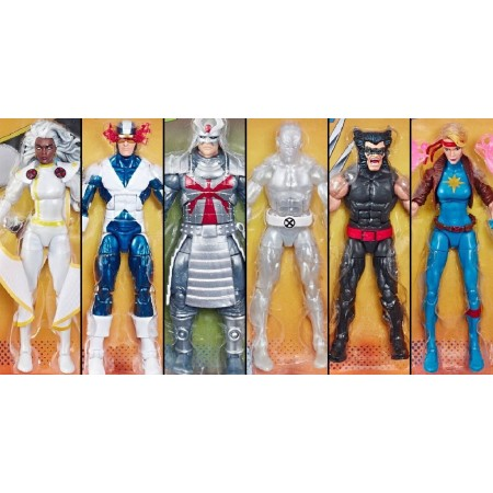 Marvel Legends X-Men Retro Collection Set of 6