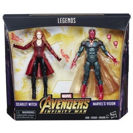 Marvel Legends Vision & Scarlet Witch 2 Pack Exclusive