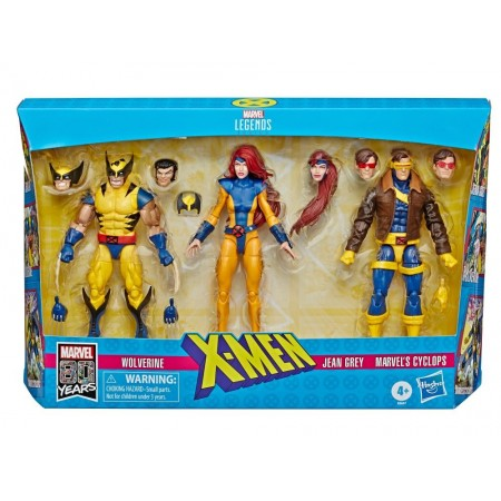 Marvel Legends X-Men 3 Pack Cyclops, Jean Grey & Wolverine