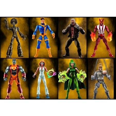Marvel Legends X-Men Wave 3 Warlock BAF Case of 8