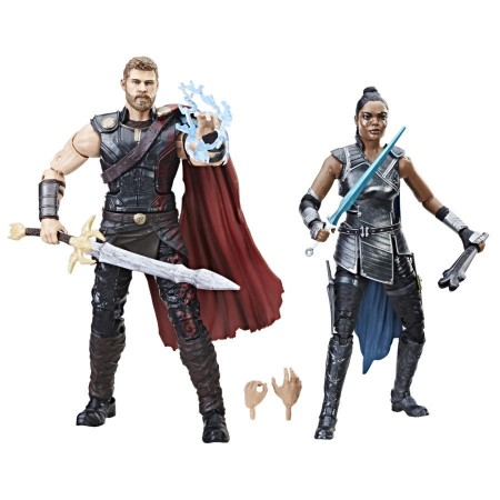 Marvel Legends Thor Ragnarok Thor & Valkyrie 2 Pack