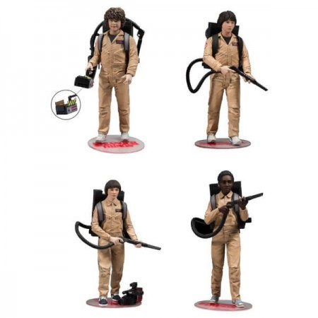 McFarlane Stranger Things Ghostbusters Deluxe 4 Pack