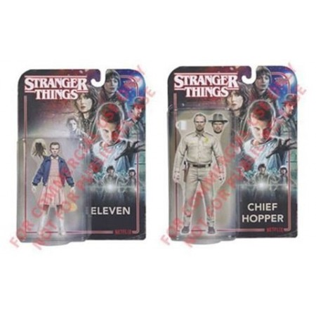 McFarlane Stranger Things Chief Hopper & Eleven Set of 2
