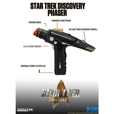 McFarlane Star Trek Discovery Phaser Replica