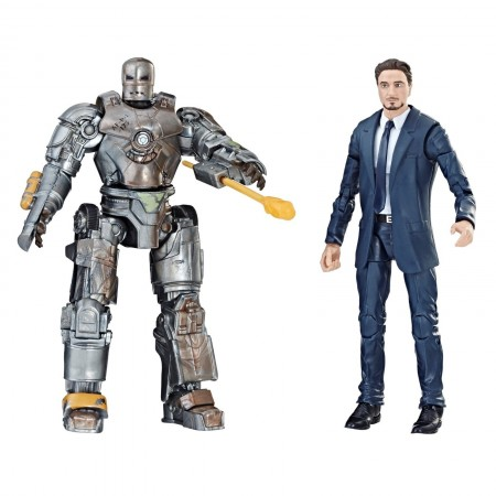 Marvel Legends Cinematic Universe Iron Man Mark 1 & Tony Stark