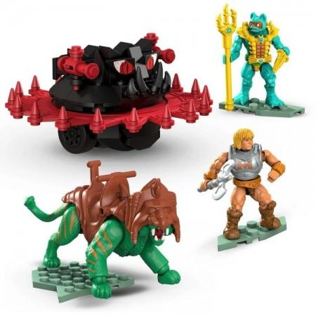 masters of the universe mega construx battle cat vs roton