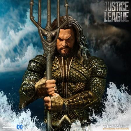 Figura de acción del colectivo Justicia Liga Aquaman va mezcando uno: 12