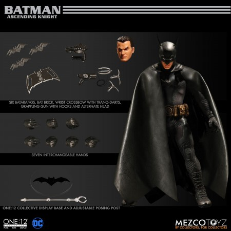 Mezco One 12 Collective Ascending Knight Batman