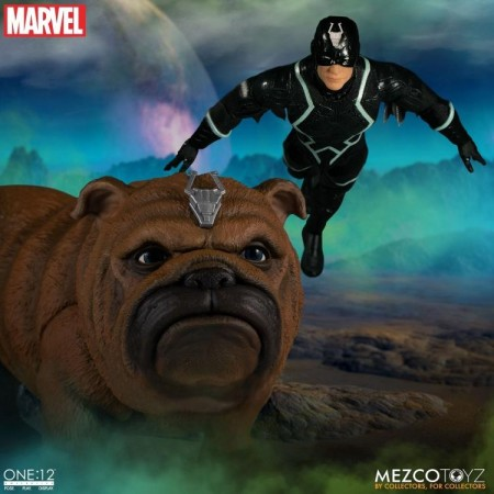 Mezco One:12 Collective Black Bolt & Lockjaw
