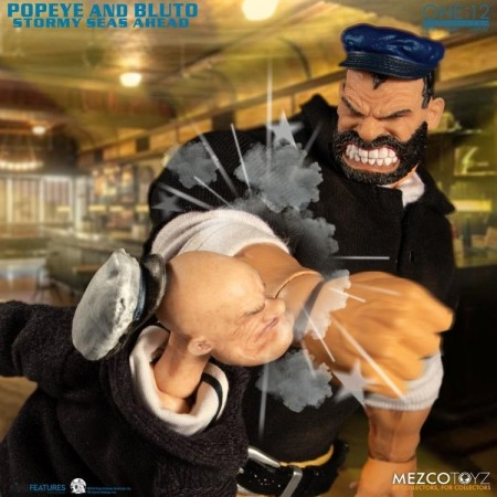 Mezco One:12 Collective Popeye & Bluto Stormy Seas Ahead Deluxe Box Set