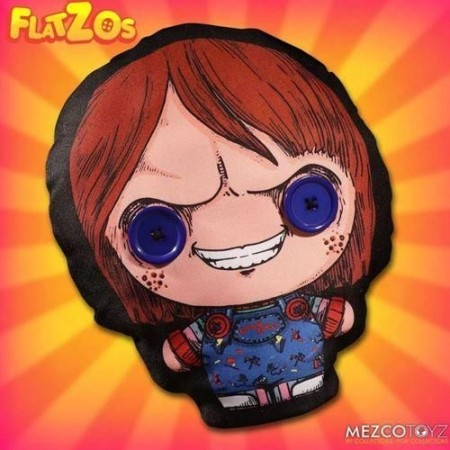 Mezco Childs Play Chucky Flatzo Plush
