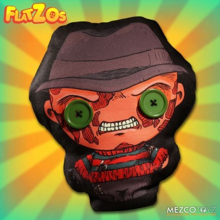 Mezco Nightmare On Elm Street Freddy Flatzo Plush