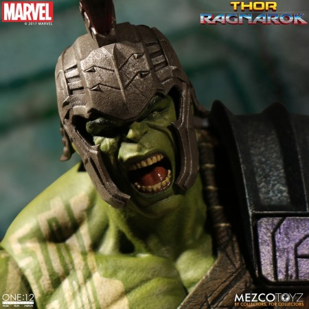 Mezco One:12 Collective Thor Ragnarok Gladiator Hulk Action Figure