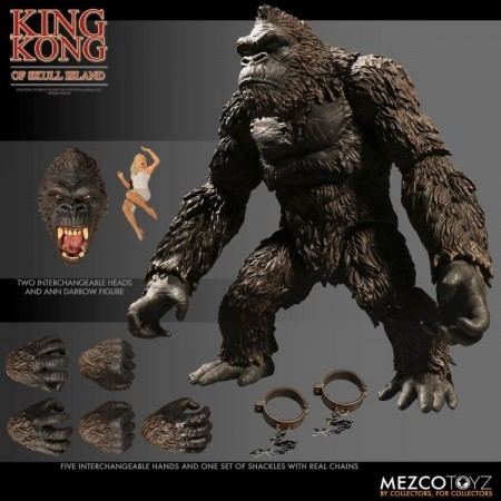 Mezco King Kong Of Skull Island 7 Inch Action Figure